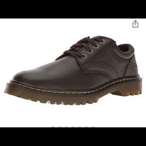 "Dr. Martens ""Ashfeld"" Leather Oxfords, Dark Brown"